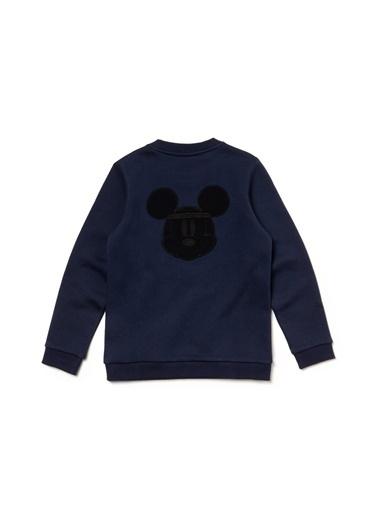 Lacoste Unisex Çocuk X Disney  Sweatshirt SJ1328.166 Lacivert